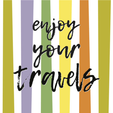 Enjoy your travels