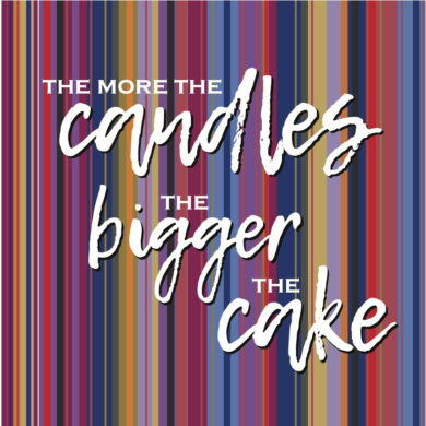 The more the candles...