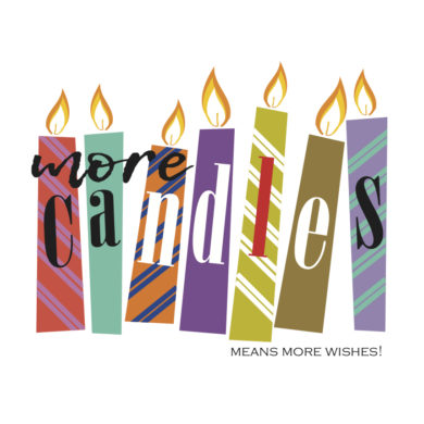 More candles means more wishes!