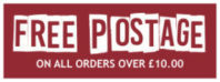 Free Postage on all orders over £10